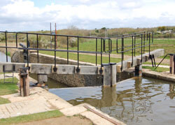 Timber Lock Gates in Cornwall